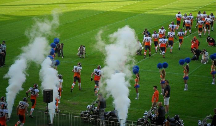 Mecz Warsaw Eagles, Stadion Polonii, Warszawa